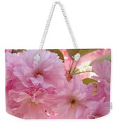 Pink Blossoms Art Prints Spring Tree Blossoms Baslee Troutman Weekender Tote Bag