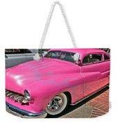 Pink Bomb Weekender Tote Bag