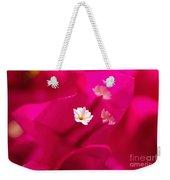 Pink Bougainvillaea Weekender Tote Bag