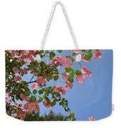 Pink Bougainvillea Weekender Tote Bag