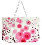 Pink Bubbles Weekender Tote Bag