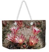 Pink Cactus Flowers 2 Weekender Tote Bag
