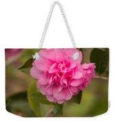 Pink Camellia 2 Weekender Tote Bag