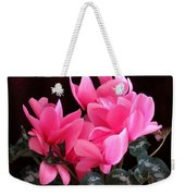 Pink Cyclamen 2  Weekender Tote Bag
