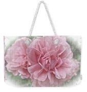 Pink Climbing Roses Weekender Tote Bag