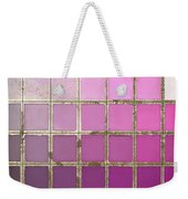 Pink Color Chart Weekender Tote Bag