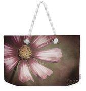 Pink Cosmos Painting Weekender Tote Bag