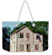 Pink Curtains Weekender Tote Bag