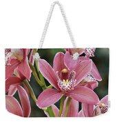 Pink Cymbidium Orchid #3 Weekender Tote Bag