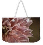 Pink Dahlia In Bloom Weekender Tote Bag