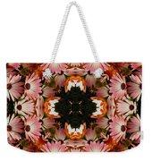 Pink Daisies Kaleidoscope Weekender Tote Bag