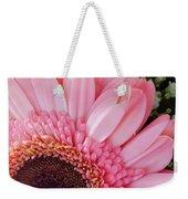 Pink Daisy Close-up Weekender Tote Bag