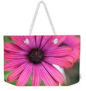 Pink Daisy Weekender Tote Bag