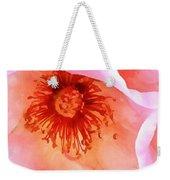 Pink Devotion Weekender Tote Bag