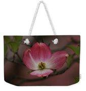 Pink Dogwood Blossom Weekender Tote Bag