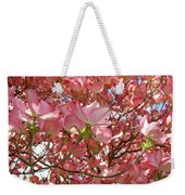 Pink Dogwood Flowering Tree Art Prints Canvas Baslee Troutman Weekender Tote Bag