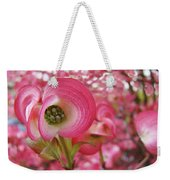 Pink Dogwood Tree Flowers Dogwood Flowers Giclee Art Prints Baslee Troutman Weekender Tote Bag