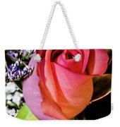 Pink Eye Rose Weekender Tote Bag