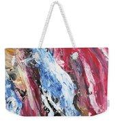 Pink Flow Abstract Weekender Tote Bag