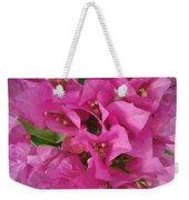 Pink Flower Composition Weekender Tote Bag