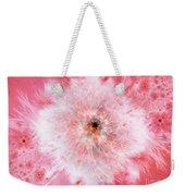 Pink Flower Power Weekender Tote Bag