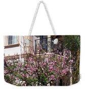 Pink Flower Tree. Elegant Weekender Tote Bag