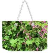 Pink Flowering Vine1 Weekender Tote Bag