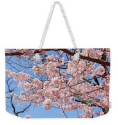 Pink Fluffy Branches Weekender Tote Bag