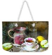 Pink For Tea Weekender Tote Bag