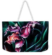 Pink Fuschia Orchid. Dance Of The Nature Weekender Tote Bag
