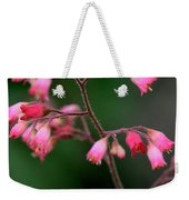 Pink Heuchera Flower 1 Weekender Tote Bag