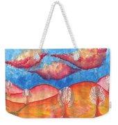 Pink Hills Dream Weekender Tote Bag