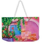 Pink Home Weekender Tote Bag