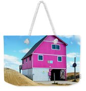 Pink House On The Beach 1 Weekender Tote Bag