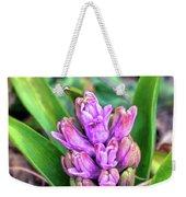 Pink Hyacinth Buds Weekender Tote Bag