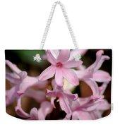 Pink Hyacinth Weekender Tote Bag