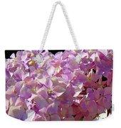 Pink Hydrangea Flower Floral Art Prints Baslee Troutman Weekender Tote Bag