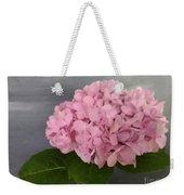 Pink Hydrangea Weekender Tote Bag