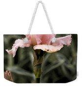 Pink Iris Weekender Tote Bag