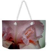 Pink Iris Study 5 Weekender Tote Bag