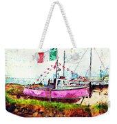 Pink Irish Boat Weekender Tote Bag