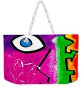 Pink Is The New Blue Weekender Tote Bag