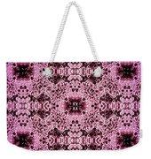 Pink Lace Weekender Tote Bag