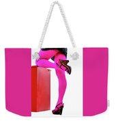Pink Legs Weekender Tote Bag