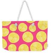 Pink Lemonade Weekender Tote Bag