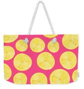 Pink Lemonade Weekender Tote Bag