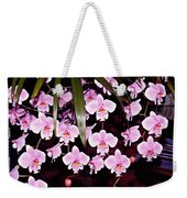 Pink Little Orchids Weekender Tote Bag