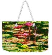 Pink Lotus Flower 2 Weekender Tote Bag