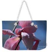 Pink Magnolia Closeup Weekender Tote Bag