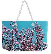 Pink Magnolia Splendor Weekender Tote Bag